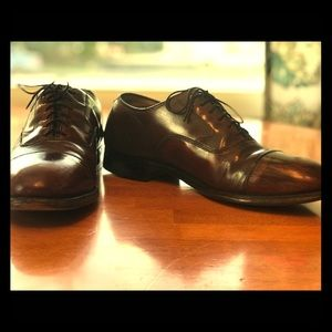 Johnston & Murphy Shoes - Johnston and Murphy Optima Cap Toe Oxford